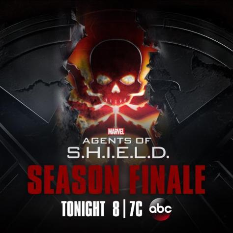 Poster - Agents Of SHIELD - S1 Finale - 2014