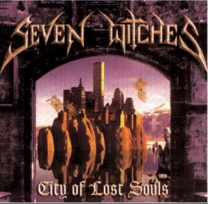 """""""City of Lost Souls"""" (remaster) by Seven Witches"""