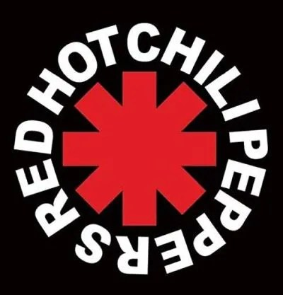 band logos, red hot chili peppers, red hot chili peppers logo