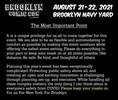 brooklyn comic con, brooklyn comic con 2021