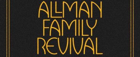 band logos, allman family revival, allman family revival logo