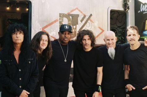 anthrax, chuck d, anthrax band photo