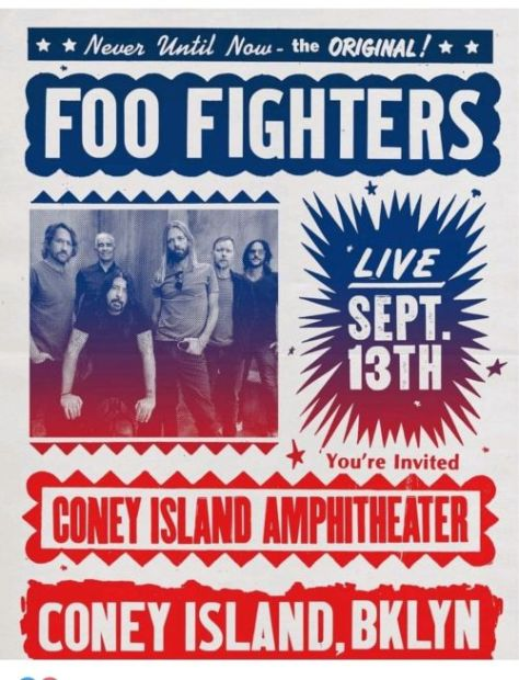 concert posters, promotional posters, foo fighters, foo fighters concert posters