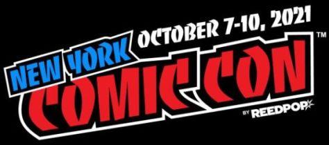 new york comic con 2021 logo, new york comic con, reedpop