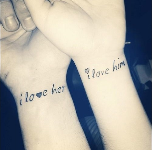 Love Quotes For Tattoos Couples | Love Quotes Everyday