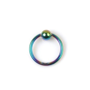 Rainbow Halka Piercing