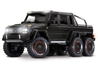 Traxxas - 88096-4-BLK TRX-6™ Mercedes