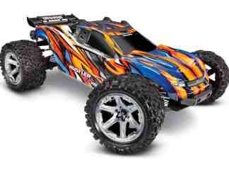 Traxxas - 67076-4 Rustler® 4X4 VXL