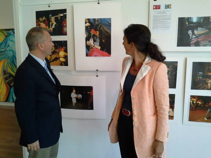 """""""Women defend their Rights"""" at Italian Institute of Culture in Bruxelles"""