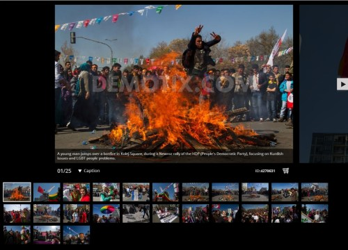 Newroz celebrated at HDP rally in Ankara - Turkey