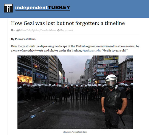 How Gezi was lost but not forgotten