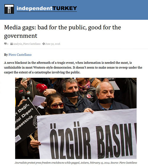 Media gags: bad for the public, good for the government