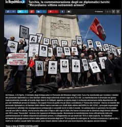 Turkish retired diplomats remember Armenian extremists' attacks