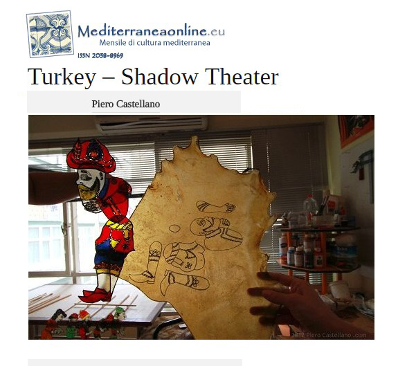 Turkey's Shadow Theater