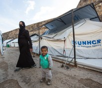 Refugees in Chios
