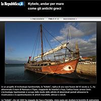 """Sailing on """"Kybele"""""""