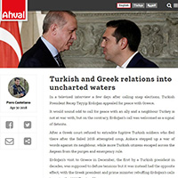 Turkish and Greek relations into uncharted waters