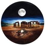 La Necropoli dei Titani, 1992 disegno a carboncino, cm 170 x 80 collezione privata