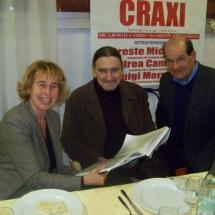 Piero Colombani Stefania Craxi Oreste Micacchi