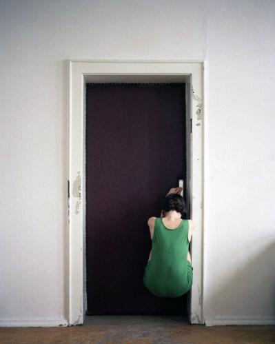 "Nadja Bournonville - ""Frauenzimmer,"" Berlin 2012, Analog C-print, Ed. 3, 36.6 x 29.3 in"