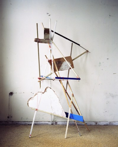 "Nadja Bouronville - "" String Construction,"" Berlin 2012, Analog C-print, Ed. 3, 36.6 x 29.3 in"