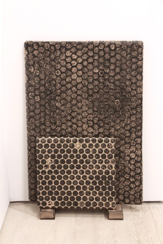 "Tom Burckhardt - ""Bubble Wrap,"" 2017, Acrylic on cardboard, 30 x 20 x 6 inches"