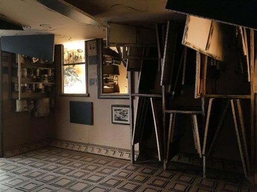 "Tom Burckhardt - ""STUDIO FLOOD,"" Installation view at PIEROGI. August 2017"