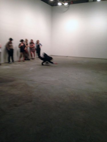 William Colley - Beyond (Becoming) performance at The Boiler
