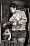 Hugo Crosthwaite - Dog Ear Pincher, 2012, Acrylic on paper, 8.5 x 5.5 inches