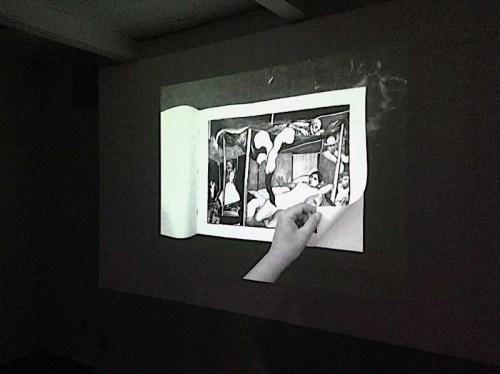 "Hugo Crosthwaite - ""Tijuana Bible,"" Video projection"