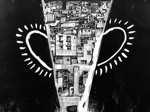 "Hugo Crosthwaite - ""Como Romeo y Julieta,"" (Still) 2021, Stop-motion Drawing Animation, 3:49 Minutes"