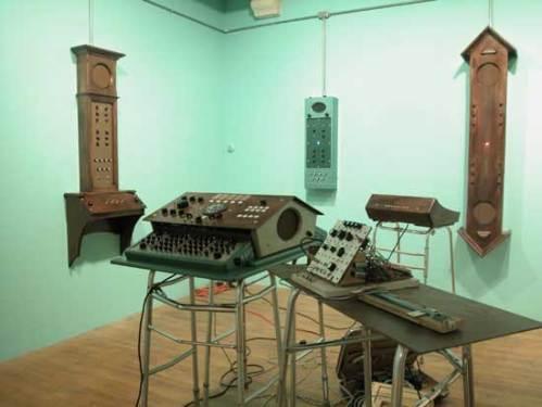 Brian Dewan - Dewanatron Installation View 1