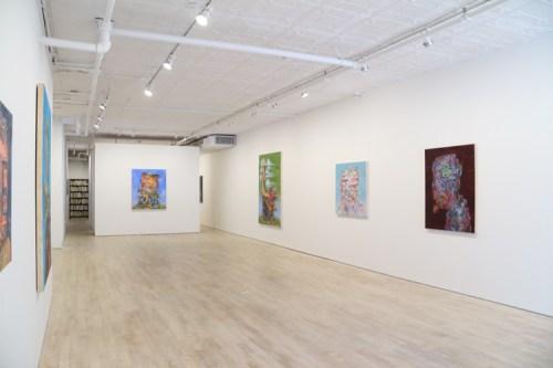 "James Esber - ""Dewey Defeats Truman,"" Installation View, May 2016"