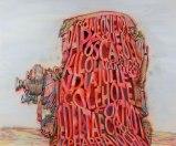 Alphabravo - 2010, acrylic on canvas, 55 x 66 1/4 inches