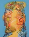 "James Esber - ""SheHe,"" 2020, Acrylic on PVC panel, 40.5 x 32 inches"