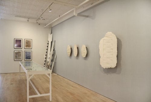 "no title - ""False Narratives"" Installation View, June 2016 (Brian Conley, ""Decipherment of Linear X"")"