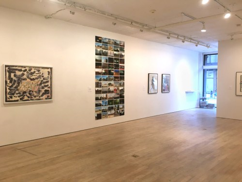 "no title - ""First, Second and Third Person,"" Installation View"