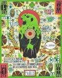 "Tony Fitzpatrick - ""The Emerald Songbird (For Josephine Baker),"" 2018."