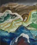 """Elliott Green - """"Blind Hunger,"""" 2018, Oil on linen, 20 x 16 inches"""