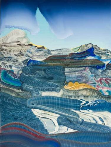 "Elliott Green - ""Mariner,"" 2019, Oil on linen, 40 x 30 inches"