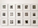 "Patrick Jacobs - ""Nocturnes,"" Copperplate Etching with Drypoint, 6.5 x 5.5 inches each"