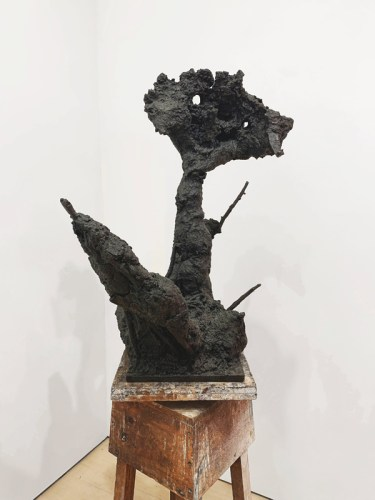 "Patrick Jacobs - ""Scarecrow (Daisy) (The Nocturnes),"" 2019, #1/3, Bronze, 32.5 (H) x 21 (W) x 23 (D) inches"