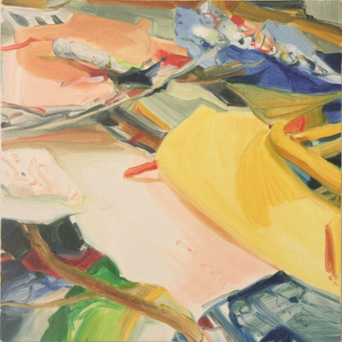Layerscape - 2012, oil on linen, 12 x 12 inches