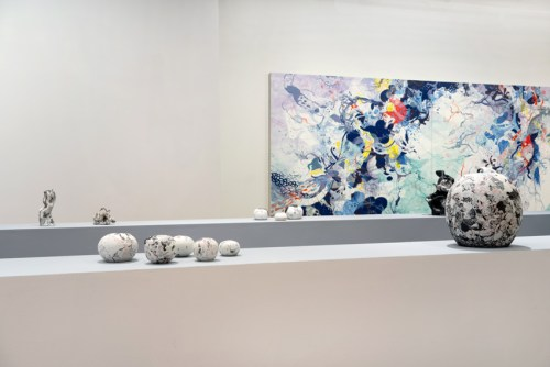 Darina Karpov - Installation view, March 2020