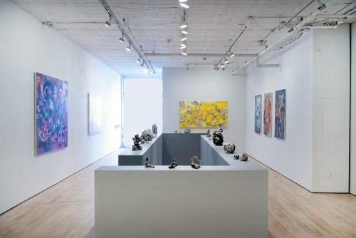 Darina Karpov - Installation view, March 2020