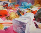 "Darina Karpov - ""Monument,"" 2012, Oil on linen, 54 x 67 inches"