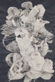 Darina Karpov - Untitled, 2016, Watercolor and tempera on paper, 18 x 12 inches. Sold.