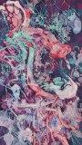 "Darina Karpov - ""Phantom Limb,"" 2015, Watercolor and acrylic on paper, 69.75 x 39 inches"