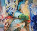 Darina Karpov - Spell I, 2011, Oil on canvas, 30 x 36 inches