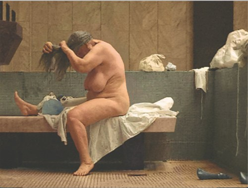 "Katarzyna Kozyra (Postmasters) - ""Women's Bathhouse,"" 1997/2015, Color photograph, 30 x 40 cm, Ed. of 5 +AP Courtesy of Postmasters Gallery"